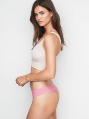 Victorias Secret růžová bezešvá tanga