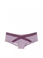 Pohodlné pruhované cheekster kalhotky Victorias Secret PINK