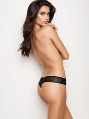 Victorias Secret černá bezešvá tanga