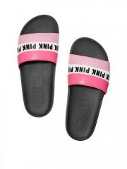 Růžové dámské pantofle Victorias Secret PINK