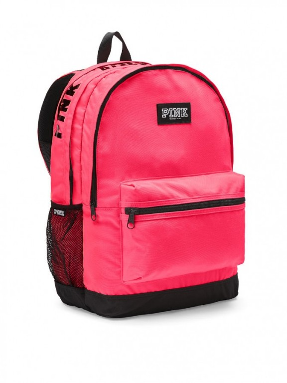 Victoria's Secret PINK pohodlný růžový batoh Campus Backpack