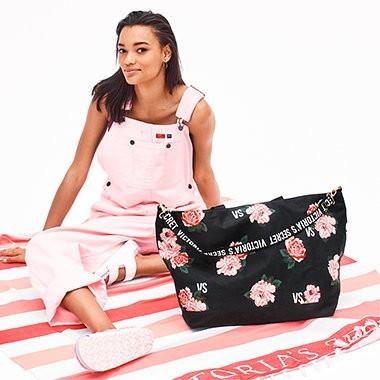 Victoria's Secret lehká bavlněná deka Beach Blanket