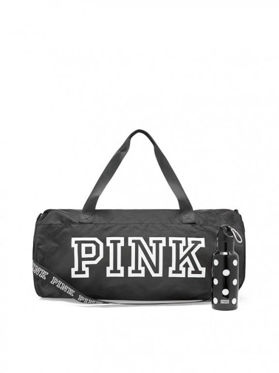 Victoria's Secret PINK velká sportovní taška + lahev na pití