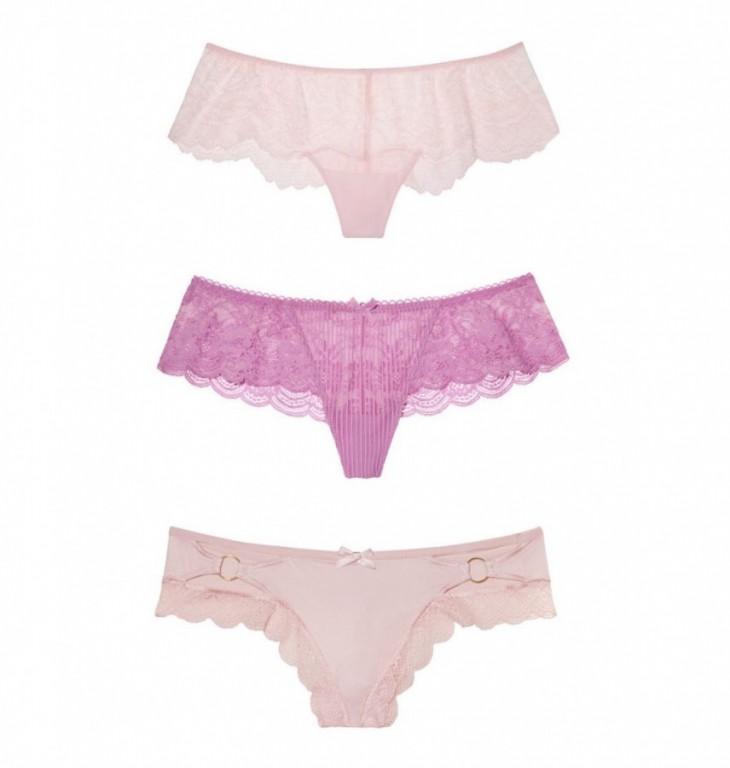 Victoria's Secret luxusní set kalhotek vel. M