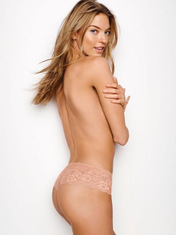 Victoria's Secret luxusní sexy tělová tanga Floral Lace Hipster Thong Panty