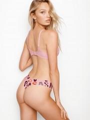 Růžovo-fialové bezešvé kalhotky