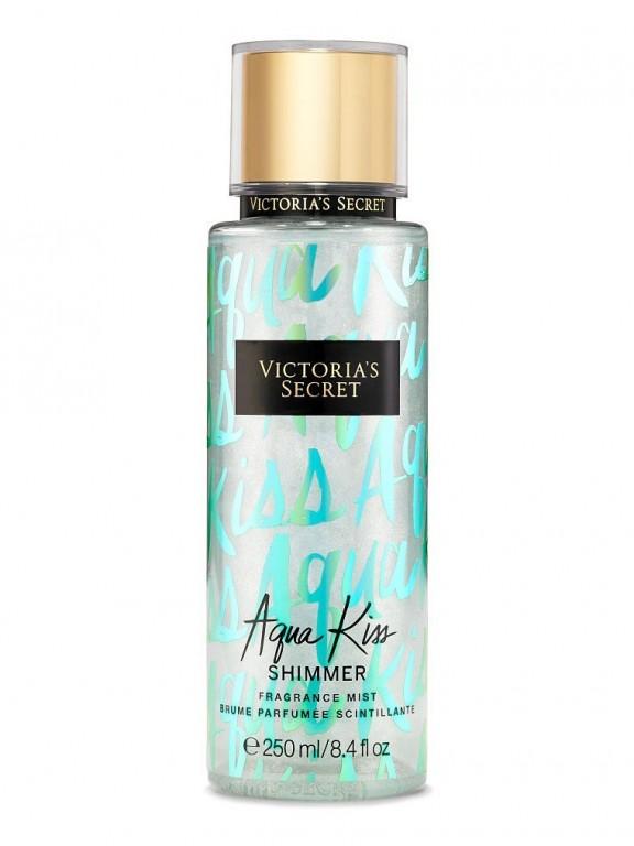 Victoria's Secret voňavý tělový sprej se třpytkami Aqua Kiss Shimmer