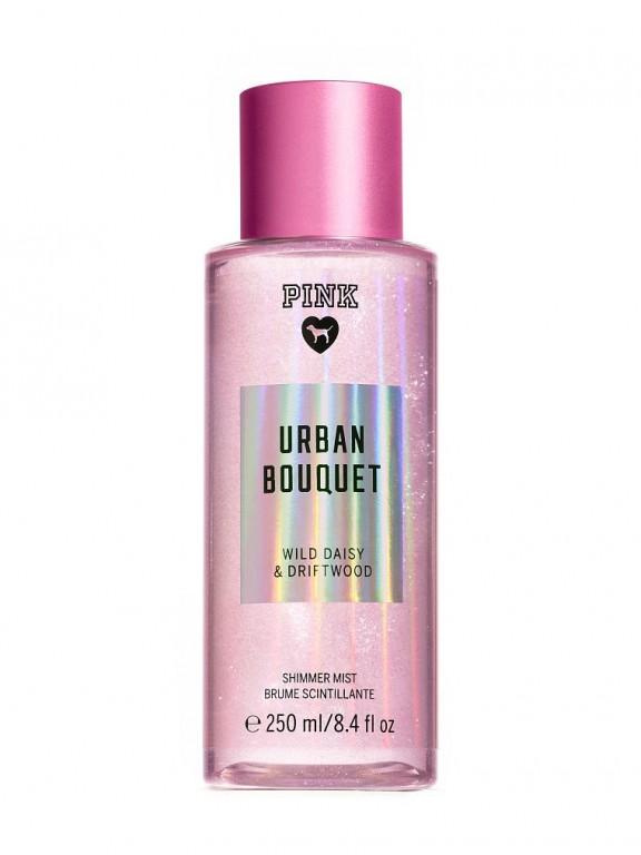 Victoria's Secret PINK voňavý tělový sprej se třpytkami Urban Bouquet Shimmer
