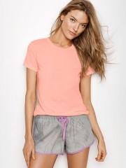 Růžové triko na spaní i pro domácí pohodu