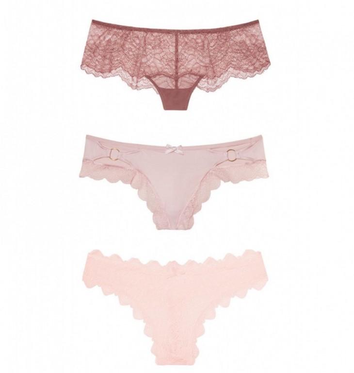 Victoria's Secret luxusní set tangových kalhotek vel. XS