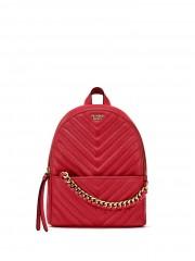 Luxusní tmavě červený batůžek