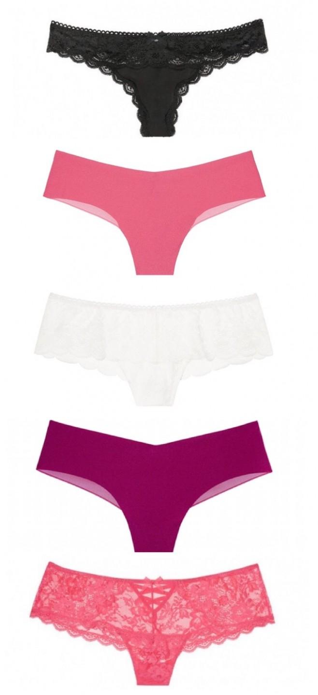 51902804843 Luxusní dárkové balení · Luxusní tangový set Victorias Secret · Černá tanga  s krajkou · Růžová bezešvá tanga · Luxusní bílá ...