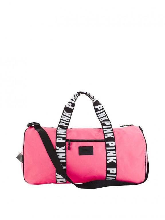 Victoria's Secret PINK velká sportovní taška Weekender Duffle růžová