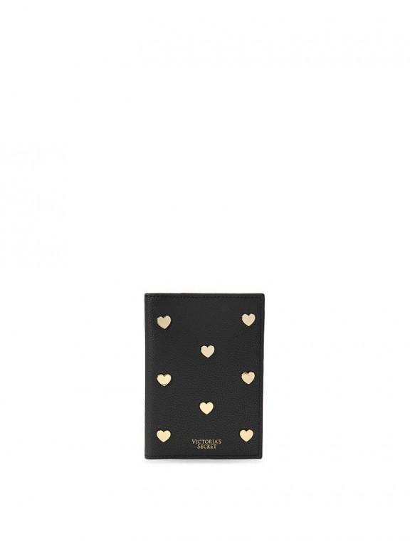 Victoria's Secret pouzdro na cestovní pas Passport Cover černé