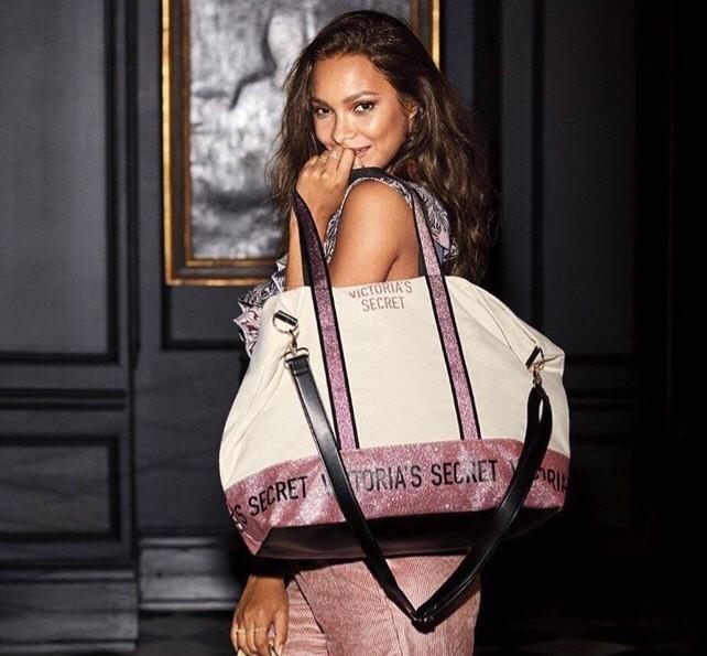 Victoria's Secret cestovní taška Weekender Glitter Tote Bag
