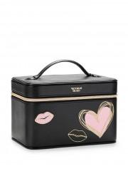 Černý kosmetický kufřík Love Backstage