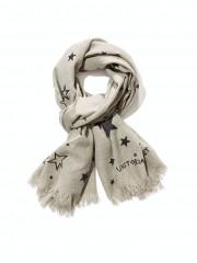 Stylový šedý zimní šátek Victorias Secret