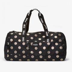 Victorias Secret PINK puntíkovaná sportovní taška