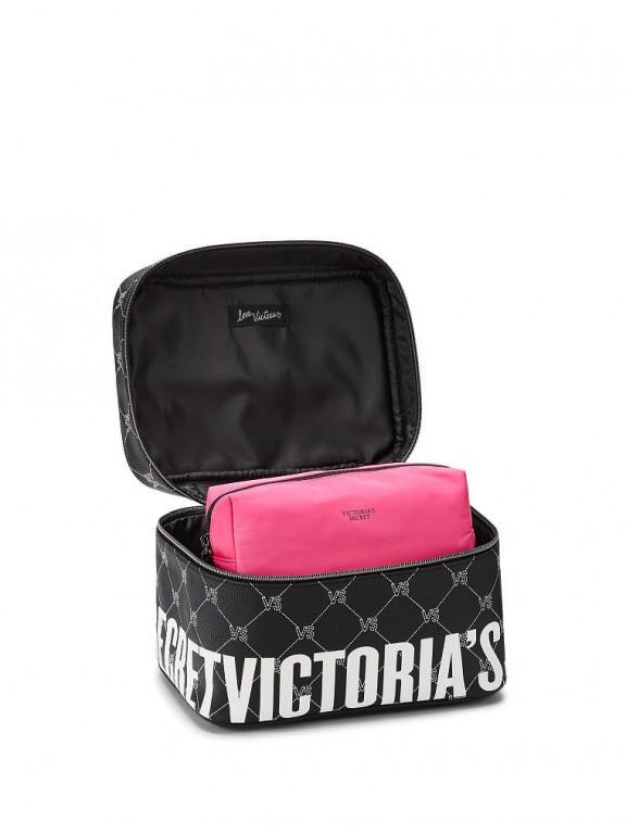 Victoria's Secret duo kosmetických taštiček VS Monogram Weekender Train Case