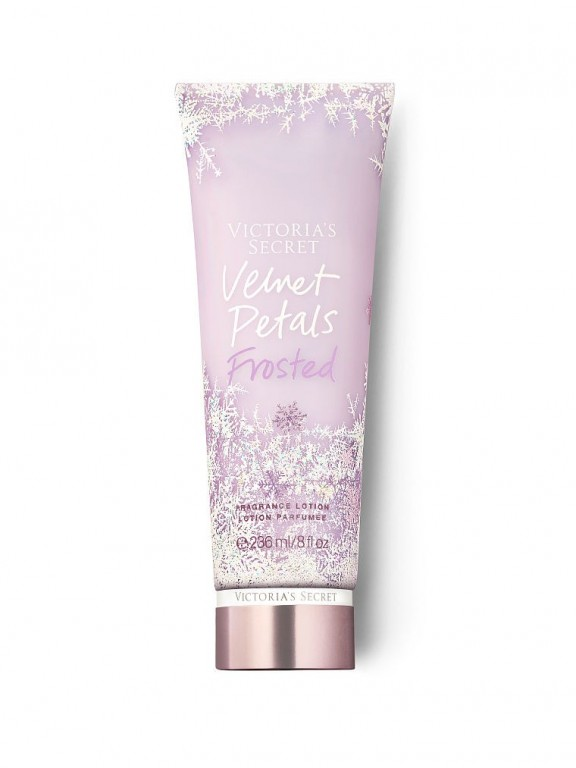 Victoria's Secret tělové mléko Frosted Fragrance Lotion Velvet Petals
