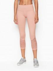 Victoria Sport růžové legíny capri