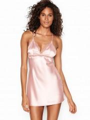 Victorias Secret světle růžová noční košilka