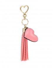 Victorias Secret růžový přívěsek na tašku
