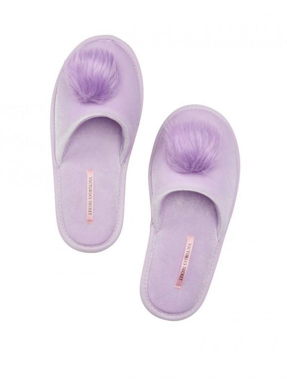 Victoria's Secret domácí pantofle Pom-Pom Slippers