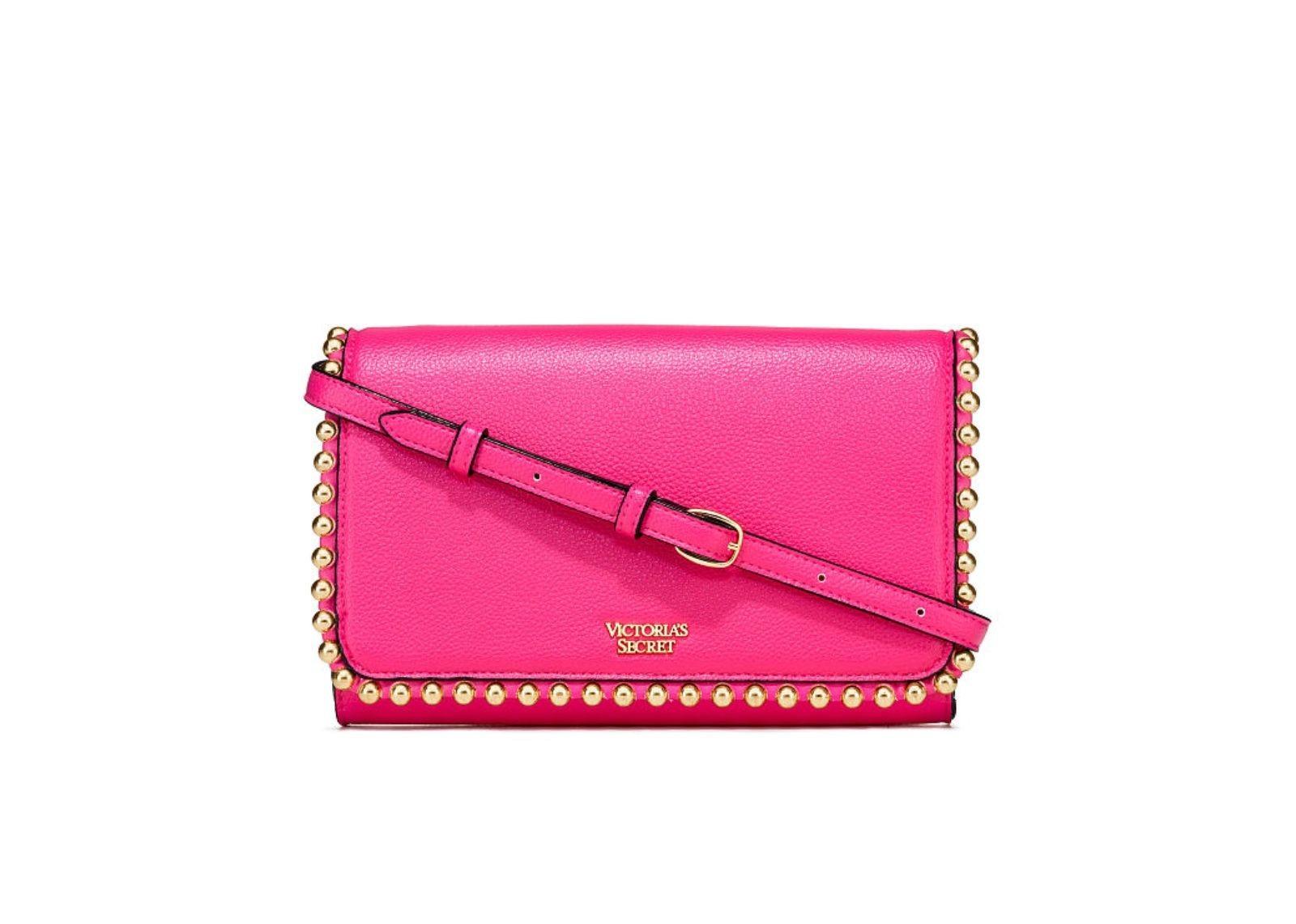 Růžová kabelka Victorias Secret  Růžová crossbody kalbelka VS ... e58eabbcf8