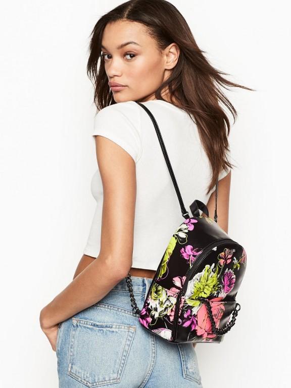 Victoria's Secret luxusní batůžek Bombshell Wild Flower Small City Backpack