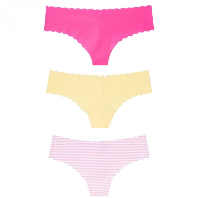 Victoria's Secret set bezešvých tangových kalhotek vel. M