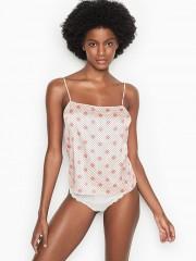 Victorias Secret sexy saténová noční košilka