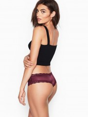 Victorias Secret luxusní vínové kalhotky Very Sexy