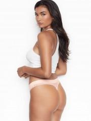 Victorias Secret světle růžová sexy tanga