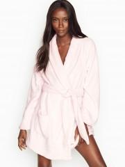 Victorias Secret světle růžový hebký župan