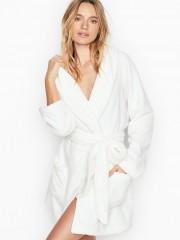 Victorias Secret hřejivý župan v krémovém odstínu