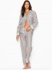 Victorias Secret proužkované flanelové pyžamo