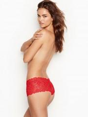 Victorias Secret sexy luxusní krajkové červené kalhotky