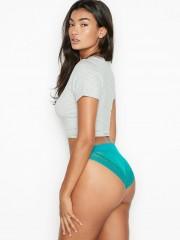 Krajkové zelené kalhotky Victorias Secret