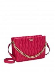 Victorias Secret luxusní růžová crossbody kabelka