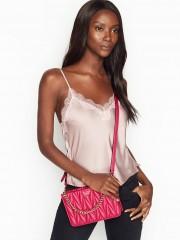 Luxusní růžová kabelka Victorias Secret