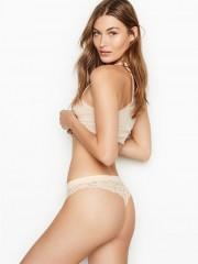 Victorias Secret tělová krajková tanga