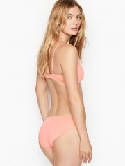 Victorias Secret oranžová plavková podprsenka