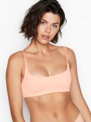 Victorias Secret světle růžová podprsenka bez kostic