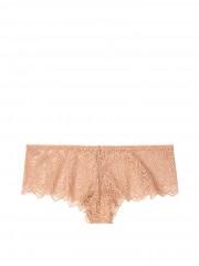 VS sexy luxusní krajkové kalhotky v tělové barvě