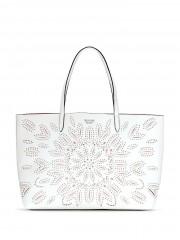 Victorias Secret bílá taška s prořezávaným vzorem