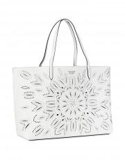 Victorias Secret luxusní bílá koženková taška