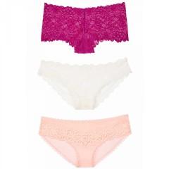 Victorias Secret luxusní sexy kalhotky multipack