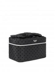 Victorias Secret černý kosmetický kufřík s ksometickou taštičkou uvnitř