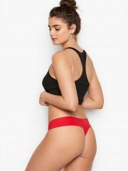 Pohodlná bezešvá tanga Victorias Secret červená